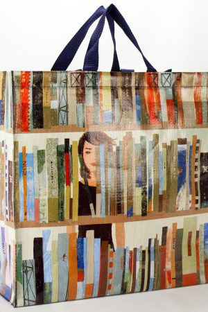 Books Blue Q Shoppers Tote