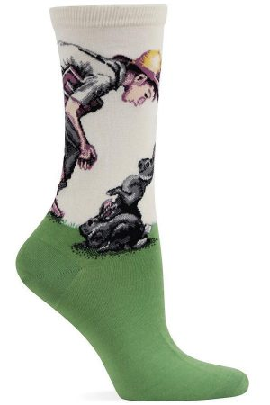 Spring Time Hot Sox Trouser Socks