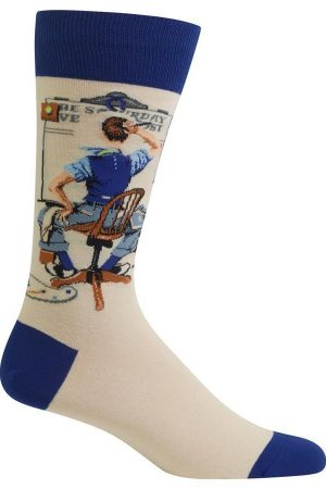 Blank Canvas Hot Sox Crew Socks