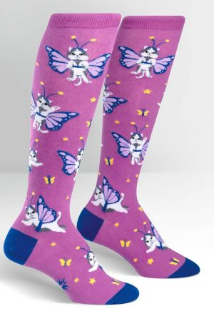 Catterfly Knee High Socks