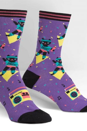 Cat-ercise Trouser Crew Socks
