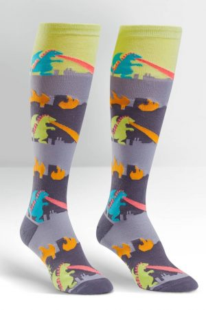 Monster Rampage Knee Highs