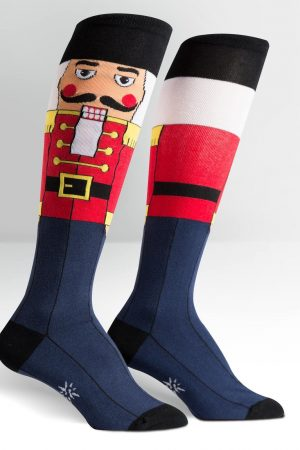 Nutcracker Solider Knee Highs Socks