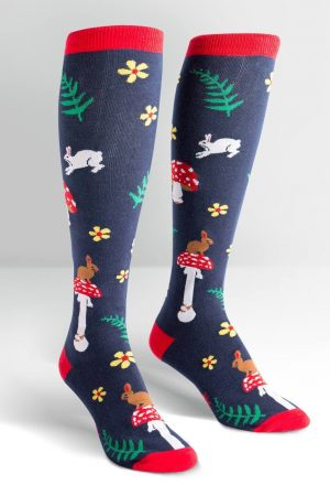 Wonderland Knee High Socks