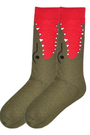 Alligator Bite K Bell Dress Socks