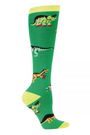 Santa Rex Knee High Socks