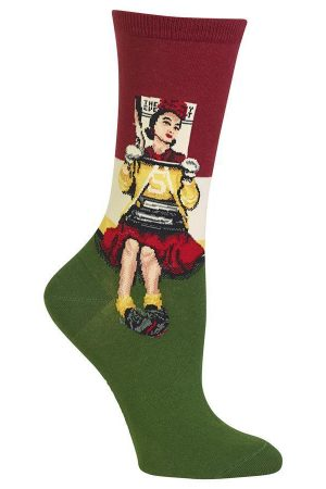Cover Girl Hot Sox Trouser Socks