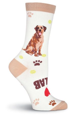 Lab Retriever K Bell Trouser Crew Socks