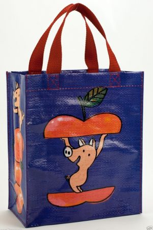 Apple Piggy Blue-Q Handy Tote