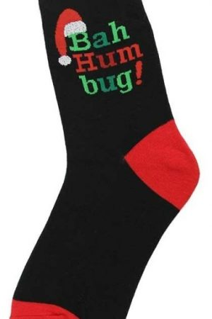 Bah Humbug Foot Traffic Trouser Crew Socks