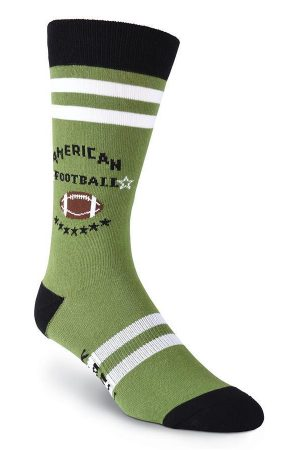 Football K Bell Dress Crew Socks