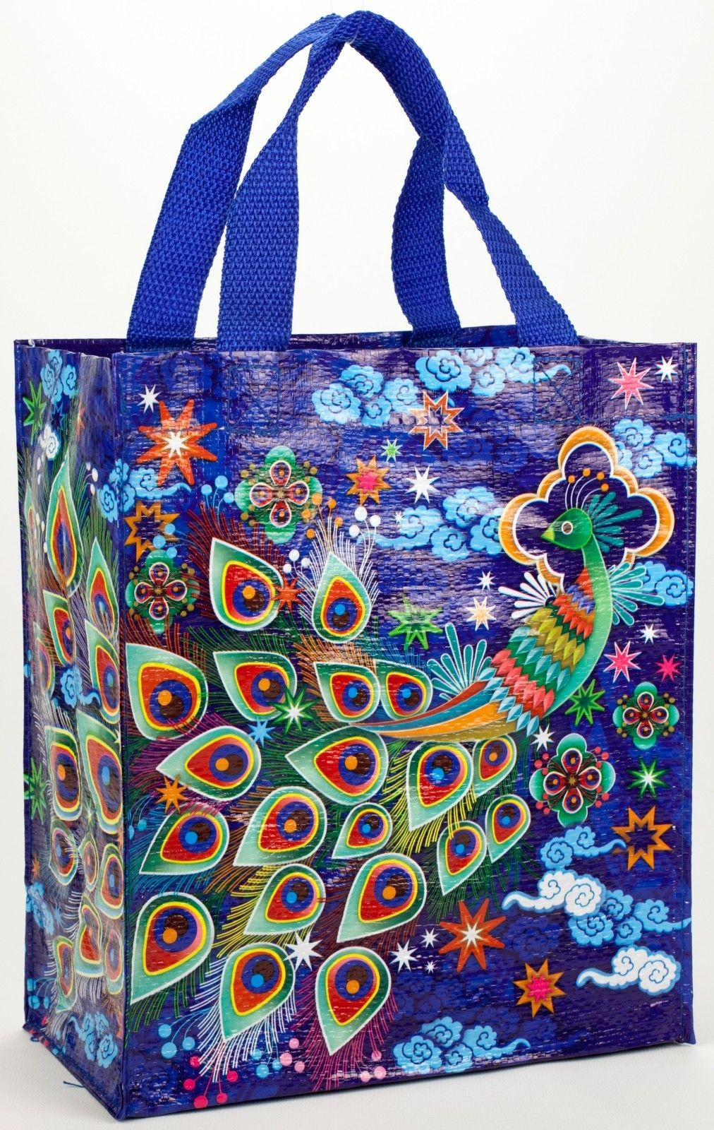 Peacock Blue-Q Handy Tote
