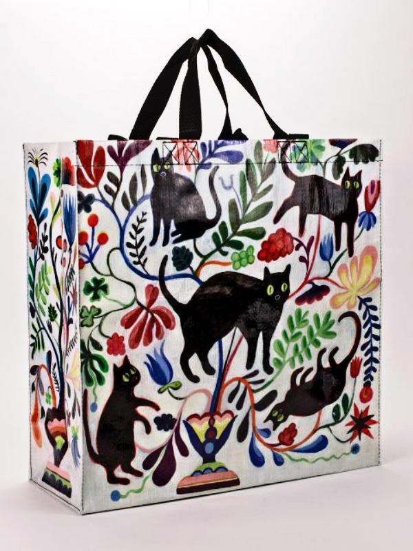 Here Kitty Blue-Q Shoppers Tote