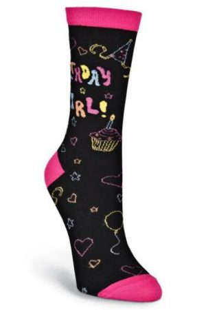 Birthday Girl K Bell Trouser Crew Socks