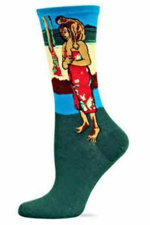 Gauguin's Polynesian Hot Sox Trouser Socks