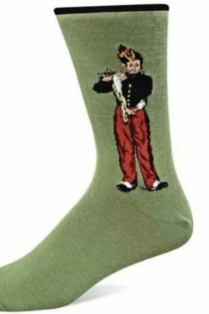 The Flutist Hot Sox Dress Socks