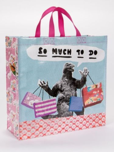 So Much To Do Blue-Q Shoppers Tote