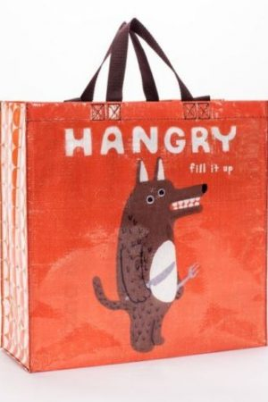 Hangry Wolf Shoppers Tote