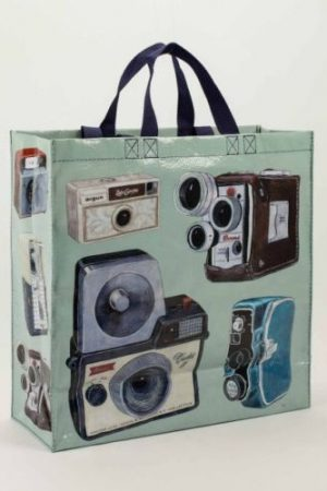 Vintage Camera Shoppers Tote