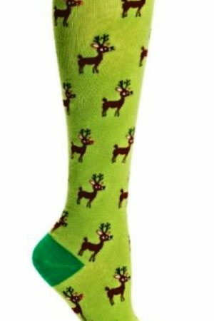 Reindeer Games Knee High Socks