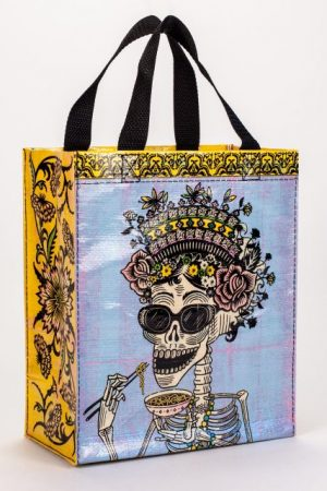 Day of The Dead Blue-Q Handy Tote