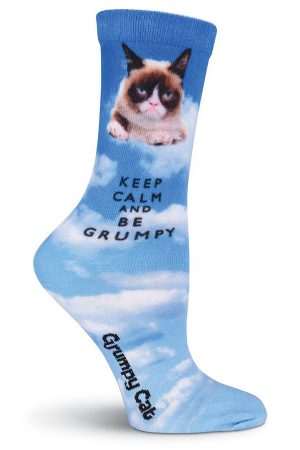 Keep Calm and Be Grumpy K Bell Trouser Crew Socks