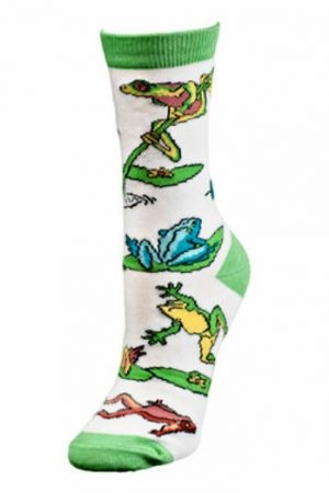 Frog Mix Wild Habitat Trouser Crew Socks