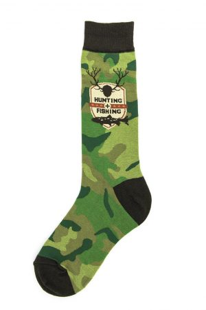 Hunting + Fishing Foot Traffic Dress Crew Socks