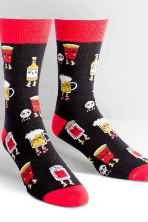 Beer Pong Dress Crew Socks