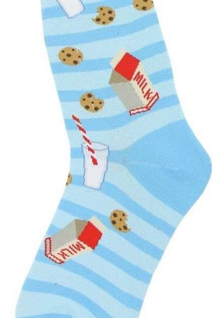 Milk & Cookies Foot Traffic Trouser Crew Socks