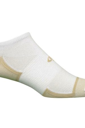 Extreme Sports No Show Socks White