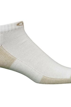 Everyday Active Athletic Low Cut Socks White