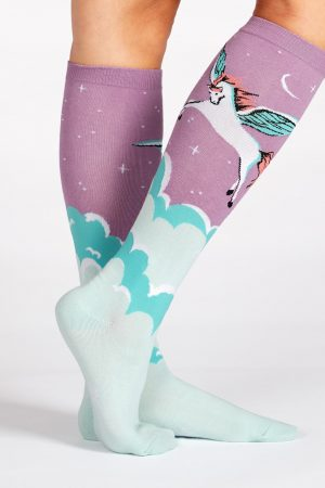 Winged Warrior Knee High Socks