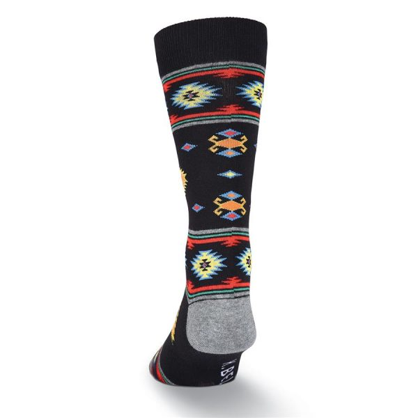 Southwest Blanket K Bell Dress Crew Socks