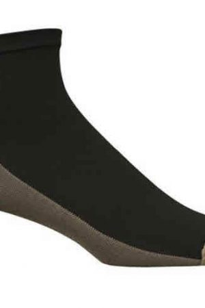 Extreme Athletic Compression Ankle Socks Black Unisex
