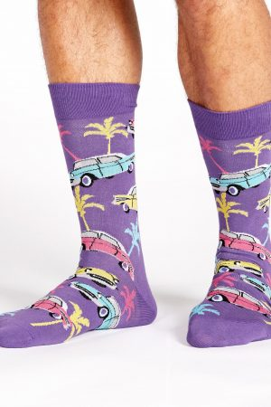 Car Hop Dress Crew Socks