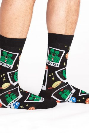 You're Out Of This World Dress Crew Socks