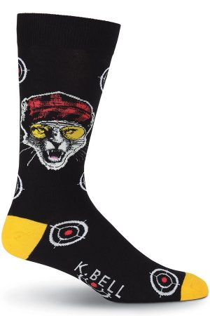 Target K Bell Dress Crew Socks Black