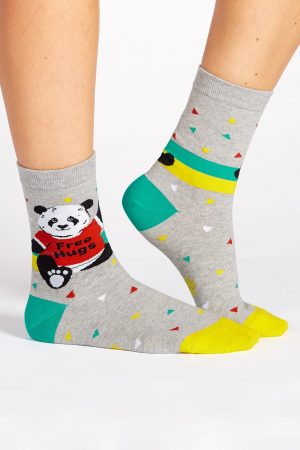 Bear Hug Trouser Crew Socks