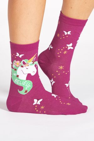 Believe in Magic Trouser Crew Socks