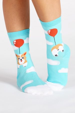 Pup, Pup and Away Trouser Crew Socks
