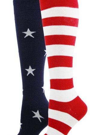 Stars and Stripes Foot Traffic Knee High Socks