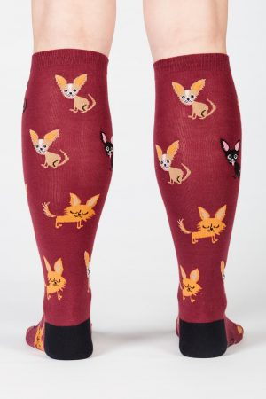 fc919caad04 ... Women 12 Men 13 Dog Fashion.  12.95. Add to cart Details · Chihuahua  Knee High Socks ...