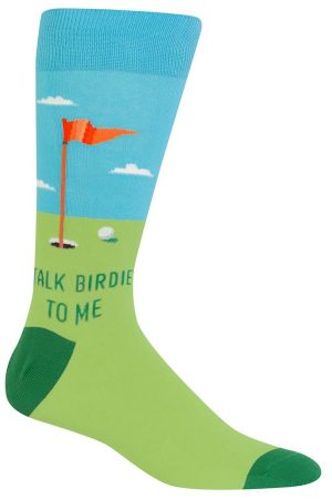 Talk Birdie to Me Hot Sox Dress Crew Socks