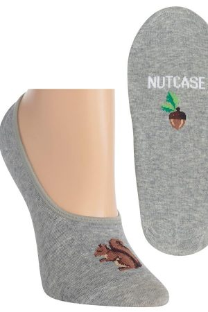 Nutcase Hot Sox Foot Liner Socks Grey