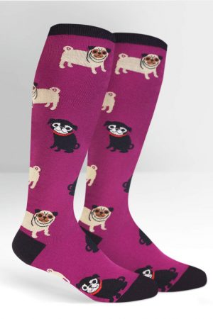 Pug Life Stretch-It™ Knee Hi Socks