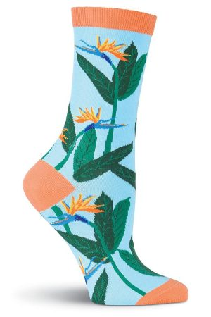 Birds of Paradise K Bell Trouser Crew Socks