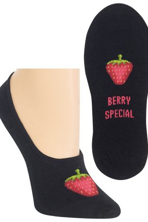 Berry Special Hot Sox Foot Liner Socks