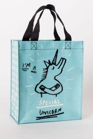 Special Unicorn Blue-Q Handy Tote