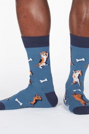 Raise the Woof Sock It To Me Dress Crew Socks